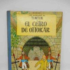 Cómics: TEBEO EL CETRO DE OTTOKAR. TINTÍN. ED. JUVENTUD. 5ª EDICIÓN. 1972.. Lote 144643746
