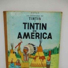 Cómics: TEBEO TINTÍN EN AMERICA. TINTÍN. ED. JUVENTUD. 2ª EDICIÓN. 1969. Lote 144644838