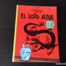 Cómics: TINTIN EL LOTO AZUL EDITORIAL JUVENTUD RUSTICA. Lote 145799970