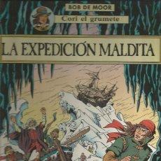 Cómics: CORI EL GRUMETE. LA EXPEDICIÓN MALDITA - BOB DE MOOR - JUVENTUD - TAPA DURA - BUEN ESTADO. Lote 145839970