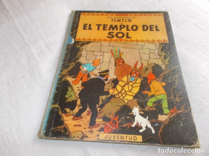 TINTIN EL TEMPLO DEL SOL 1ª EDICIÓN (Tebeos y Comics - Juventud - Tintín)