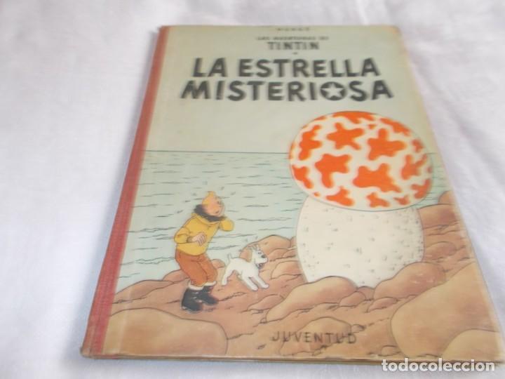 TINTÍN LA ESTRELLA MISTERIOSA 1ªEDICIÓN (Tebeos y Comics - Juventud - Tintín)