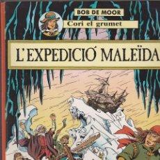Cómics: COMIC COLECCION CORI EL GRUMET L'EXPEDICIO MALEIDA BOB DE MORR EDITORIAL JOVENTUT. Lote 146387974