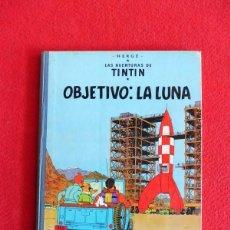 Cómics: TINTIN - OBJETIVO LA LUNA. Lote 146509866