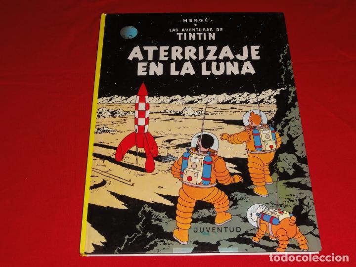 TINTIN. ATERRIZAJE EN LA LUNA. EDITORIAL JUVENTUD.TAPA DURA C-30 (Tebeos y Comics - Juventud - Tintín)