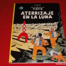 Cómics: TINTIN. ATERRIZAJE EN LA LUNA. EDITORIAL JUVENTUD.TAPA DURA C-30. Lote 146957698