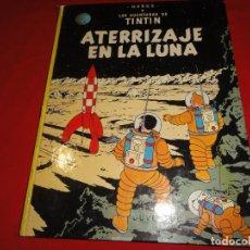 Cómics: TINTIN. ATERRIZAJE EN LA LUNA. EDITORIAL JUVENTUD.TAPA DURA C-30. Lote 146958202