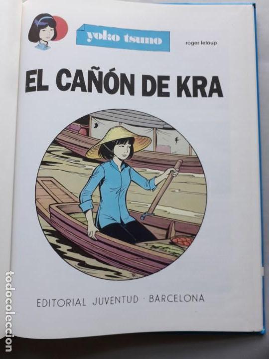 Cómics: El cañón de Kra. Yoko Tsuno. - Foto 2 - 146991774