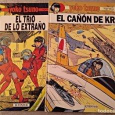 Cómics: LOTE DE 2 TEBEOS EN TAPA DURA YOKO TSUNO.. Lote 147290494