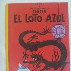 Cómics: LAS AVENTURAS DE TINTIN : EL LOTO AZUL . HERGÉ ... DE JUVENTD.. Lote 147380298