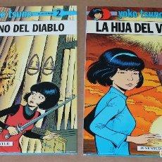 Cómics: YOKO TSUNO - 2 EL ÓRGANO DEL DIABLO 9 LA HIJA DEL VIENTO - JUVENTUD 1ª ED 1991 1989, MUY BUEN ESTADO. Lote 115587291
