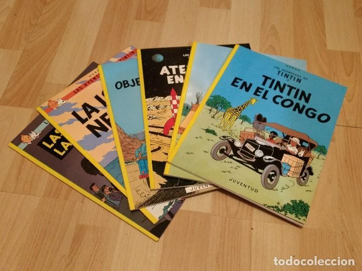 Cómics: Colección completa TINTIN edición rustica (tapa blanda) en perfecto estado. - Foto 2 - 147470942