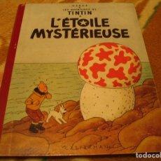 Cómics: LES AVENTURES DE TINTIN L´ETOILE MYSTERIEUSE HERGÉ CIRCA 1958 PARIS FRANCIA CASTERMAN. Lote 147486878