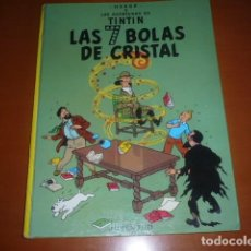 Cómics: TINTIN AVENTURA LAS 7 BOLAS DE CRISTAL 5ª EDI. 1978. Lote 147492850