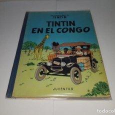Cómics: LIBRO DE TINTÍN EN EL CONGO, 1ª EDICIÓN. Lote 147511090