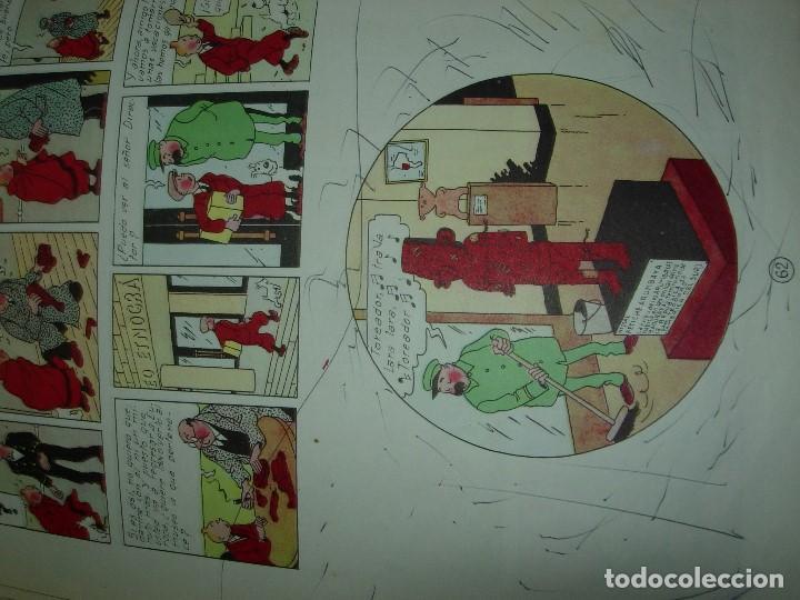 Cómics: TINTIN / LA OREJA ROTA JUVENTUD 1966 - Foto 8 - 147737994