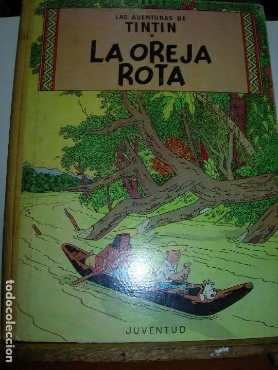 TINTIN / LA OREJA ROTA JUVENTUD 1966 (Tebeos y Comics - Juventud - Tintín)