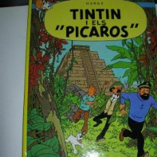 Cómics: TINTIN / TINTIN I ELS PICAROS. Lote 147739742