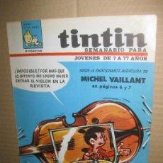 Cómics: SEMANARIO TINTIN Nº 43. . Lote 148023126