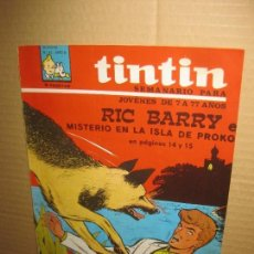 Cómics: SEMANARIO TINTIN Nº 42. . Lote 148023210