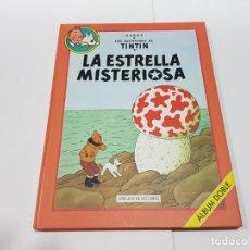 Cómics: LIBRO DE TINTÍN DOBLE DE CIRCULO LECTORES - ESTRELLA MISTERIOSA Y TINTÍN EN EL PAIS DEL ORO NEGRO. Lote 148156318
