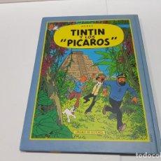 Cómics: LIBRO DE TINTÍN DOBLE DE CÍRCULO DE LECTORES - VUELO 714 PARA SIDNEY Y TINTÍN Y LOS PÍCAROS. Lote 148157946