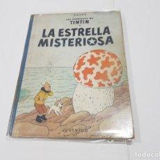 Cómics: LIBRO DE TINTÍN LA ESTRELLA MISTERIOSA, 1ª EDICIÓN 1960. Lote 148210334