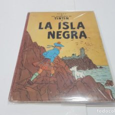 Cómics: LIBRO DE TINTÍN LA ISLA NEGRA 1ª EDICIÓN DE 1ª VERSIÓN COLOR 1961. Lote 148211722