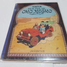 Cómics: LIBRO DE TINTÍN EN EL PAIS DEL ORO NEGRO, 1ª EDICIÓN 1961. Lote 148218214