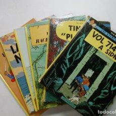 Cómics: LOTE DE 7 TBEOS / COMICS DE TINTÍN - 6 EN CATALÁN. Lote 148382542