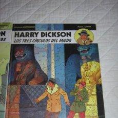 Cómics: HARRY DICKSON - LOS TRES CIRCULOS DEL MIEDO N. 3. Lote 148656898