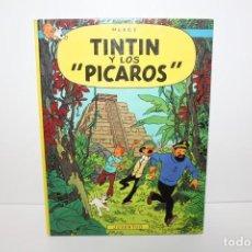 Comics : COMÍC TEBEO TIN TIN Y LOS PICAROS PRIMERA EDICCIÓN DE 1976.HERGE.EDIT JUVENTUD. Lote 148688306