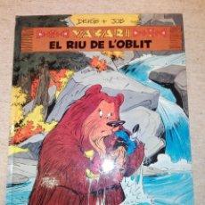 Cómics: YAKARI - EL RIU DE L'OBLIT. Lote 148691758