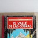 Cómics: EL VALLE DE LAS COBRAS-LAS AVENTURAS DE JO,ZETTE Y JOCKO-HERGÉ-1ª EDICIÓN-AÑO 1972.. Lote 149508694