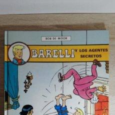 Cómics: BARELLI Y LOS AGENTES SECRETOS Nº5 BOB DE MOOR-ED.JUVENTUD-1ª EDICIÓN-AÑO 1992-NUEVO.. Lote 149733970