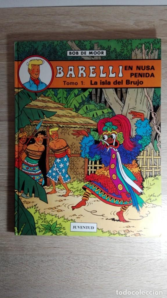 BARELLI EN NUSA PENIDA LA ISLA DEL BRUJO Nº 2 BOB DE MOOR-ED.JUVENTUD-1ª EDICIÓN-AÑO 1990 (Tebeos y Comics - Juventud - Barelli)