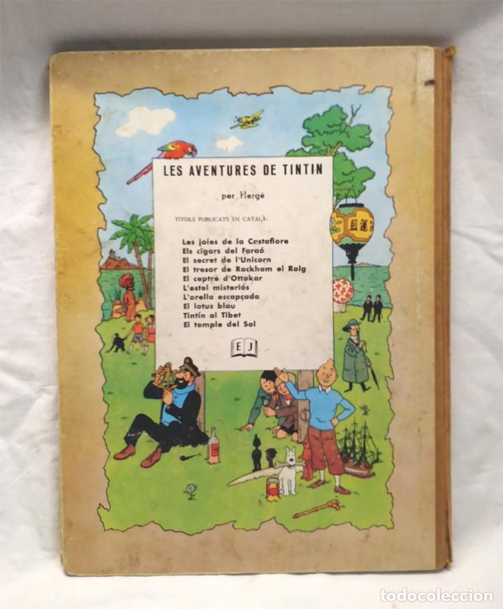 Cómics: Tintin En America 1era edición lomo de Tela any 1968, en catalan - Foto 4 - 150183058