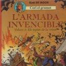 Cómics: CORI EL GRUMET -- L'ARMADA INVENCIBLE 1 I 2 -- EN CATALÀ . Lote 150609134