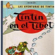 Cómics: TINTIN - TINTIN EN EL TÍBET 3ª ED 1967. Lote 150758186