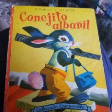 Cómics: CONEJITO ALBAÑIL COMIC 1961. Lote 151281233
