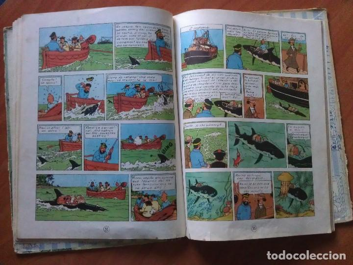 Cómics: TINTÍN ; CUATRO TÍTULOS, ENTRE ELLOS UNA PRIMERA EDICIÓN - Foto 2 - 151758718