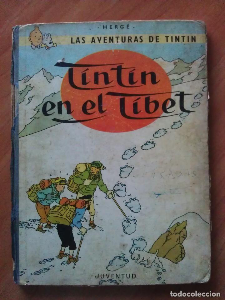 Cómics: TINTÍN ; CUATRO TÍTULOS, ENTRE ELLOS UNA PRIMERA EDICIÓN - Foto 4 - 151758718