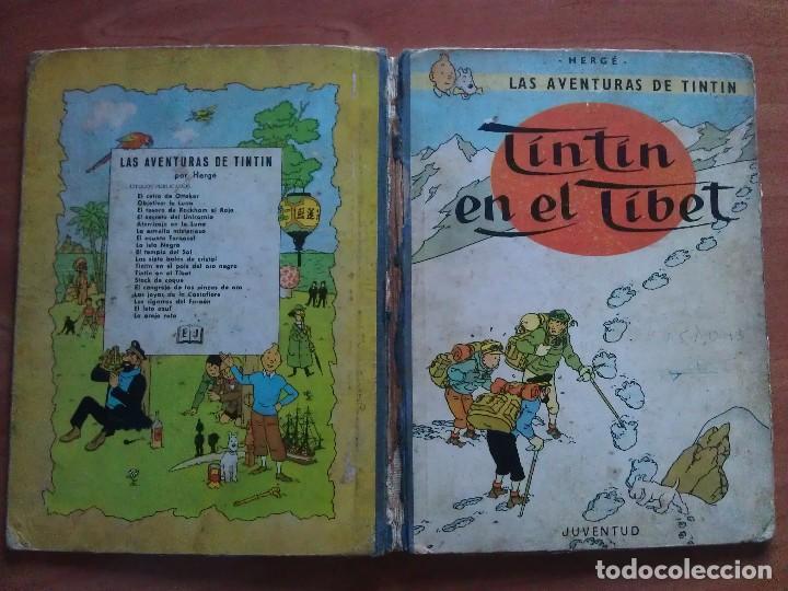 Cómics: TINTÍN ; CUATRO TÍTULOS, ENTRE ELLOS UNA PRIMERA EDICIÓN - Foto 5 - 151758718