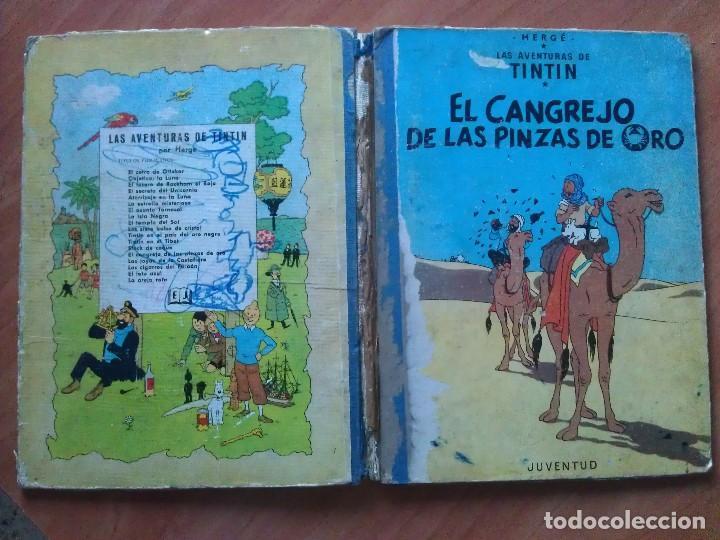 Cómics: TINTÍN ; CUATRO TÍTULOS, ENTRE ELLOS UNA PRIMERA EDICIÓN - Foto 7 - 151758718