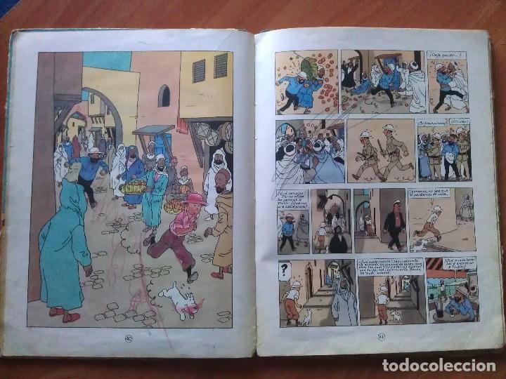 Cómics: TINTÍN ; CUATRO TÍTULOS, ENTRE ELLOS UNA PRIMERA EDICIÓN - Foto 9 - 151758718