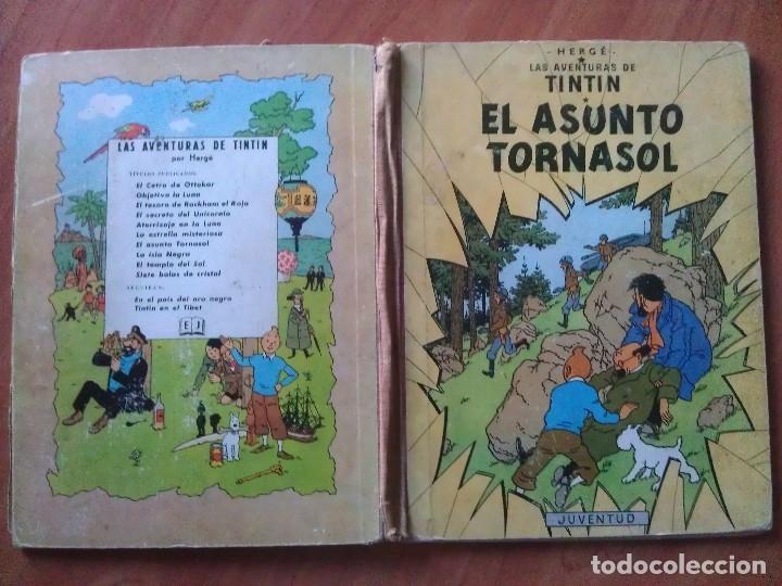 Cómics: TINTÍN ; CUATRO TÍTULOS, ENTRE ELLOS UNA PRIMERA EDICIÓN - Foto 10 - 151758718