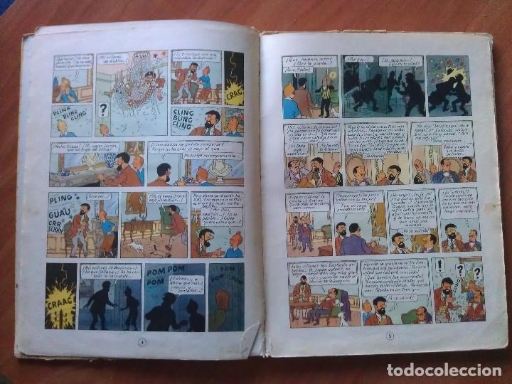 Cómics: TINTÍN ; CUATRO TÍTULOS, ENTRE ELLOS UNA PRIMERA EDICIÓN - Foto 11 - 151758718