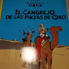 Cómics: EL CANGREJO PINZAS DE ORO. LAS AVENTURAS DE TINTÍN. HERGÉ. EDITORIAL JUVENTUD. VIGÉSIMO PRIMERA EDIC. Lote 151862557
