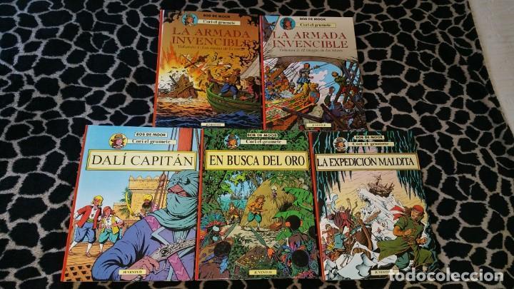 CORI EL GRUMETE BOB DE MOOR COLECCIÓN COMPLETA ED. JUVENTUD 5 TOMOS PRIMERA EDICIÓN (Tebeos y Comics - Juventud - Cori el Grumete)