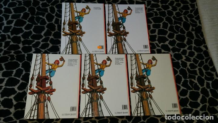 Cómics: CORI EL GRUMETE BOB DE MOOR colección completa Ed. JUVENTUD 5 tomos primera edición - Foto 2 - 152344442